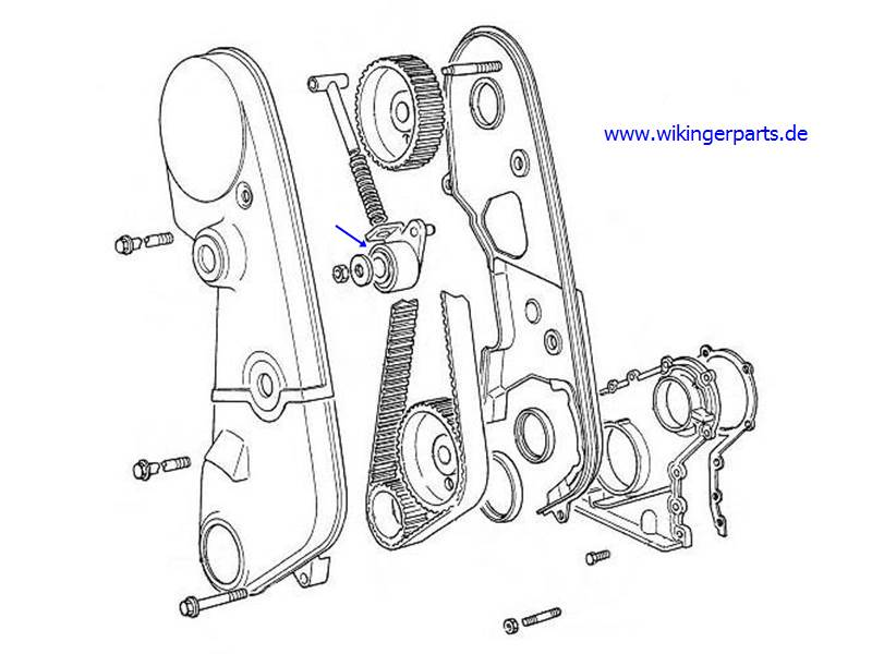 Volvo Tension Pulley 463633 Wikingerparts