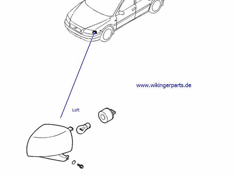 Volvo Combined Lamp 8620463 Wikingerparts