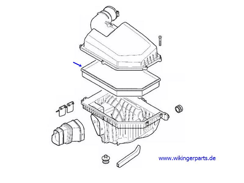 volvo air filter diagram