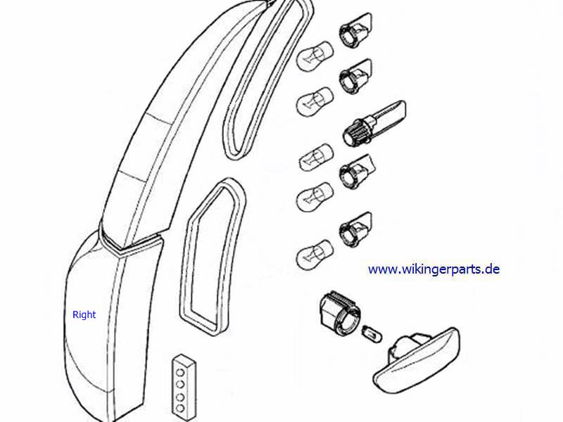 volvo tail lamp 9474851  u203a wikingerparts