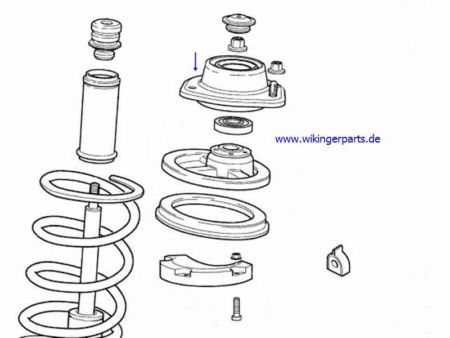 Volvo Support Bearing 30616824