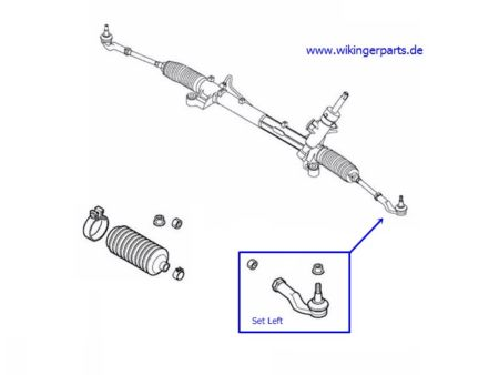 Volvo Tie End Rod 31201413