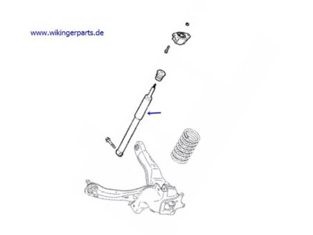 Volvo Shock Absorber 31262659