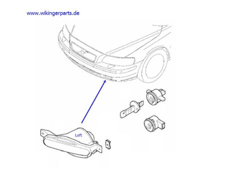 T3368291 Diagram rear brakes 1993 cavlier also 1998 Volvo S70 Vacuum Hose Diagram additionally Ubicazione  ponenti Climatizzatore Volvo Xc90 also Car Alarm Fuse Location in addition Volvo Nebelscheinwerfer 8620228. on 2000 volvo xc90